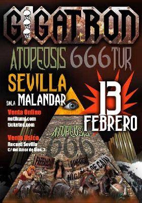 Concierto: Gigatron en Malandar Sevilla