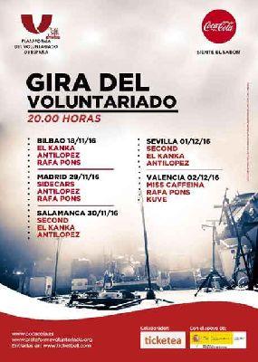 III Concierto del Voluntariado en Custom Sevilla 2016