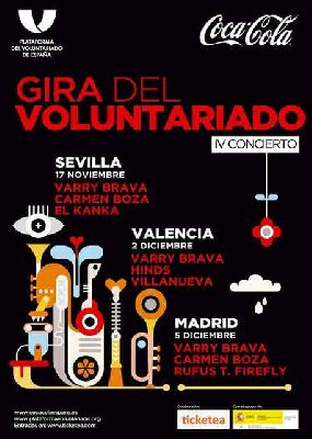 IV Concierto del Voluntariado en Custom Sevilla 2017