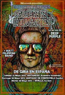 Concierto: Glenn Hughes y Matt Filippini Band en Sevilla