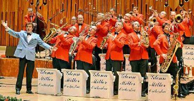 Foto promocional de la Glenn Miller Orchestra