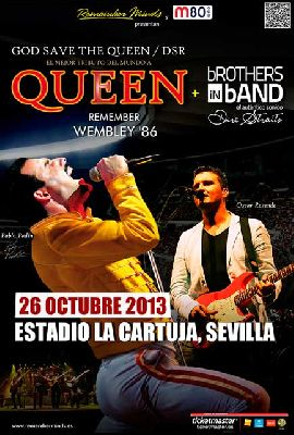 Concierto: God Save The Queen DSR y Brothers in Band en Sevilla