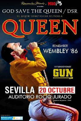 Concierto: God Save The Queen DSR y Gun en Sevilla 2018