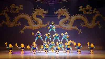 Foto promocional del Gran Circo Acrobático de China