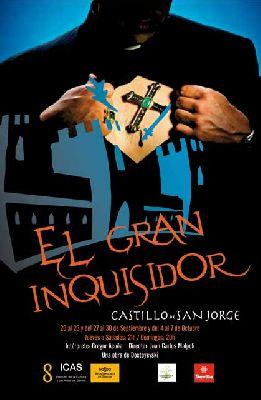 Teatro: 'El Gran Inquisidor' en el Castillo de San Jorge Sevilla