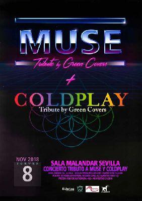 Concierto: Green Covers (Muse y Coldplay) en Malandar Sevilla 2018