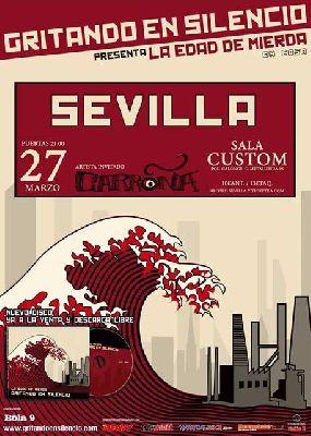 Concierto: Gritando en Silencio en Custom Sevilla