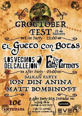 Concierto: Grogtober Fest en la Sala Even Sevilla 2018