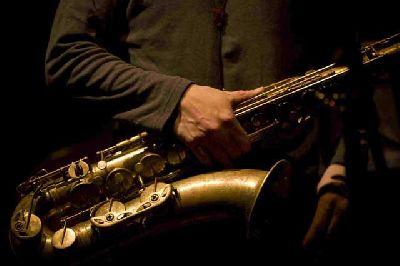 Foto promocional del grupo de saxofones Anexas
