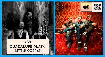 Concierto: Guadalupe Plata y Little Cobras en Pop CAAC Sevilla 2017