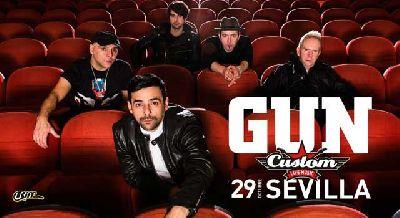 Concierto: Gun en Custom Sevilla 2015