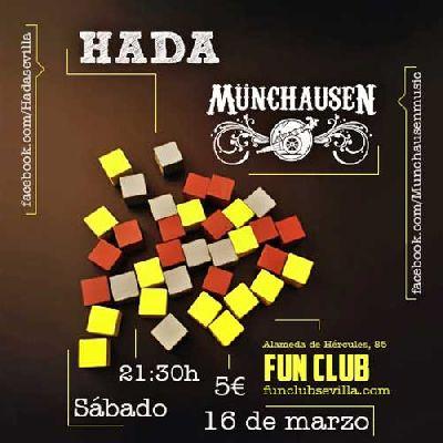 Concierto: Hada y Münchausen en el FunClub Sevilla