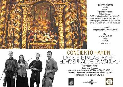 Concierto Narrado: Haydn en el Hospital de la Caridad de Sevilla