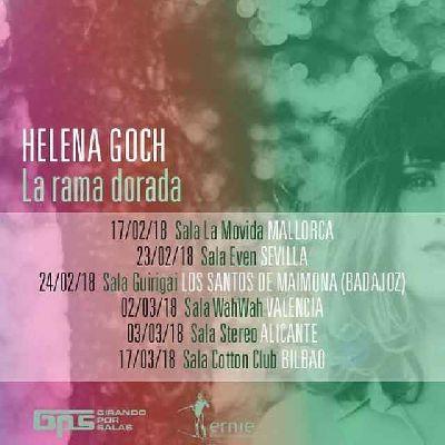 Concierto: Helena Goch en la Sala Even Sevilla (febrero 2018)