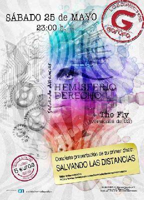 Concierto: Hemisferio Derecho en la sala Garufa Sevilla