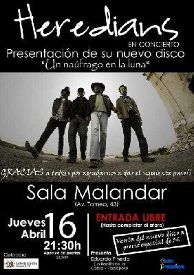Concierto: Heredians en Malandar Sevilla (abril 2015)