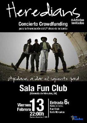 Concierto: Heredians en FunClub Sevilla