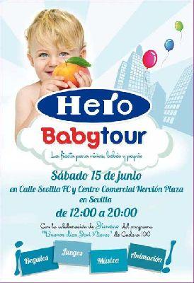 Babytour de Hero Baby en el Nervión Plaza de Sevilla