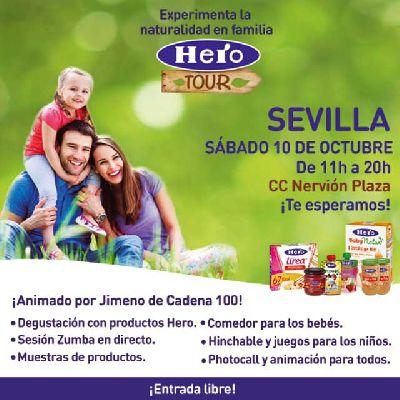 Hero Tour 2015 en el Nervión Plaza de Sevilla