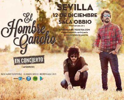 Concierto: El Hombre Gancho en Obbio Sevilla