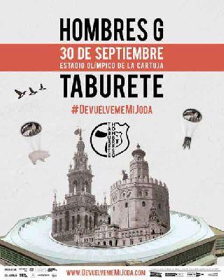 Concierto: Hombres G y Taburete en Sevilla 2017