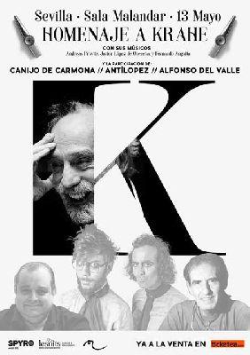 Concierto: Homenaje a Krahe en Malandar Sevilla 2017