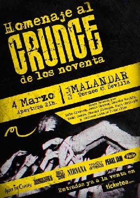 Concierto: Homenaje al Grunge de los 90 en Malandar Sevilla