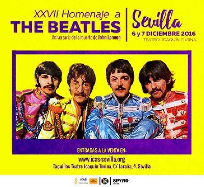 XXVII Homenaje a The Beatles en el Espacio Turina de Sevilla