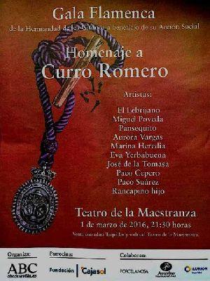 Flamenco: Homenaje a Curro Romero en el Teatro de la Maestranza de Sevilla