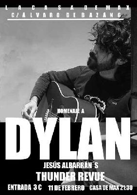 Concierto: Homenaje a Bob Dylan en la Casa de Max Sevilla (febrero 2017)