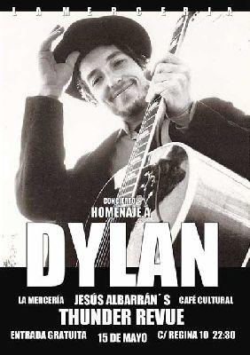 Concierto: Homenaje a Bob Dylan en La Mercería Sevilla (mayo 2015)