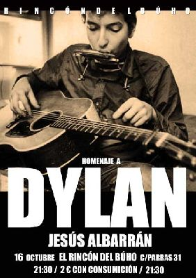 Concierto: Homenaje a Bob Dylan en el Rincón del Búho Sevilla (octubre 2015)