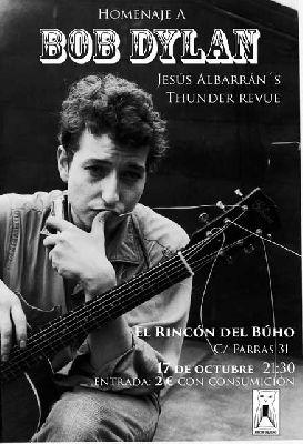 Concierto: Homenaje a Bob Dylan en el Rincón del Búho Sevilla