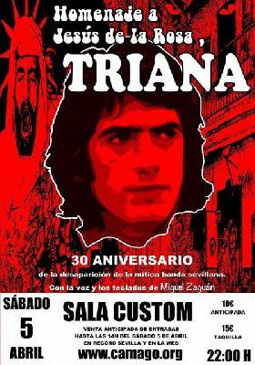 Concierto: Homenaje a Jesús de la Rosa (Triana) en Custom Sevilla