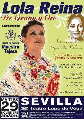 Concierto: Homenaje a Juanita Reina en el Teatro Lope de Vega de Sevilla