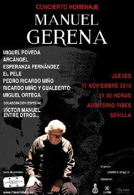 Concierto: Homenaje a Manuel Gerena en Fibes Sevilla