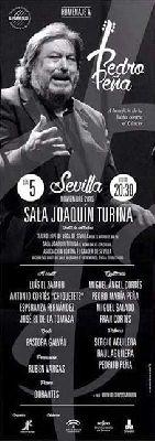 Flamenco: Homenaje a Pedro Peña pro AECC en la Sala Turina de Sevilla