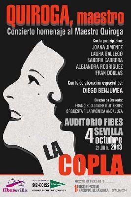 Concierto: homenaje al Maestro Quiroga en Sevilla (Fibes)