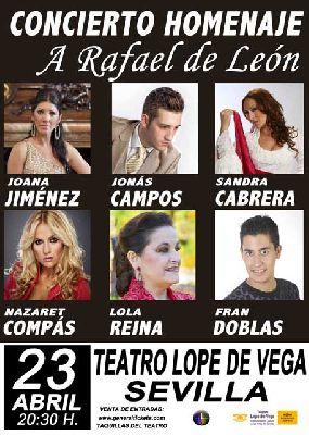Concierto: Homenaje a Rafael de León en el Teatro Lope de Vega