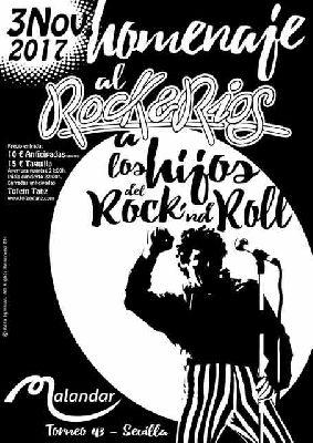 Concierto: Homenaje al Rock & Ríos en Malandar Sevilla 2017