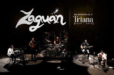 Cartel del concierto homenaje a Triana de Zaguán en Malandar Sevilla