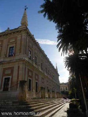 Visita guiada de Homoartis al Archivo de Indias de Sevilla