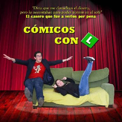 Cartel del espectáculo Cómicos con L
