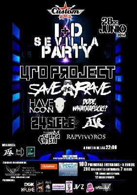 Concierto: I+D Sevilla Party en sala Custom