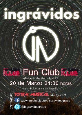 Concierto: Ingrávidos en FunClub Sevilla