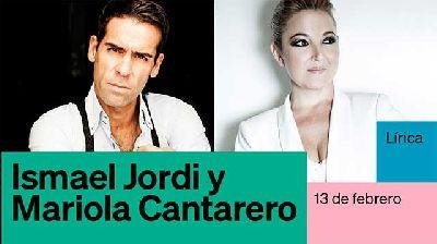 Cartel del concierto de Ismael Jordi y Mariola Cantarero