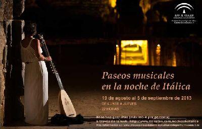 Paseos Musicales en las Noches de Itálica 2013