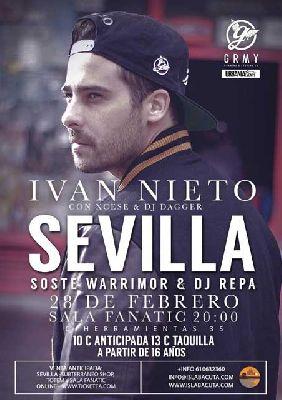 Concierto: Iván Nieto en Fanatic Sevilla