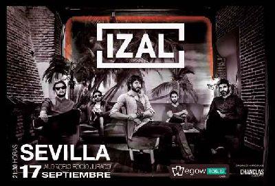 Concierto: Izal en el Auditorio Rocío Jurado de Sevilla (2016)