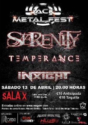 Cartel del Jack Metal Fest 2019 en Sevilla